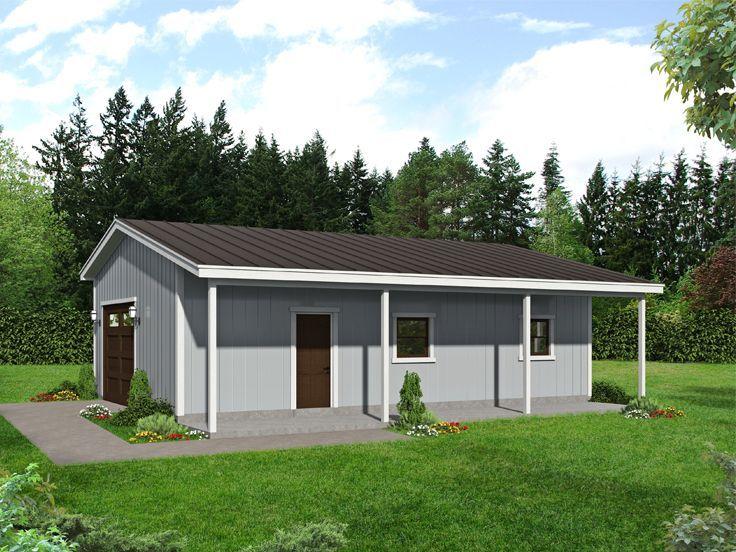 062g 0212 Two Car Garage Plan Building A Garage House Plans Pool House Plans
