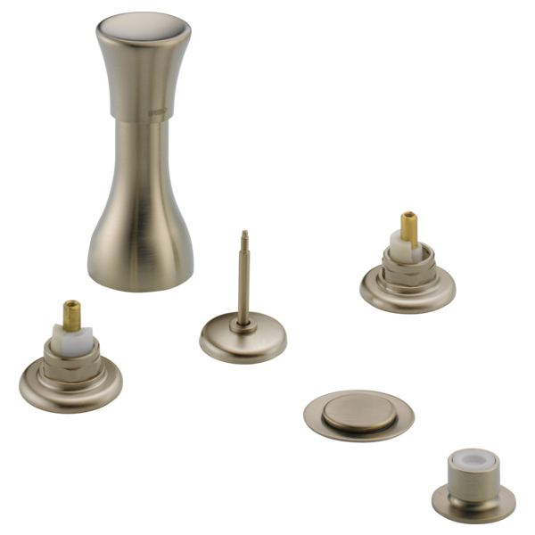 Traditional: Bidet Faucet - Less Handles Brushed Nickel