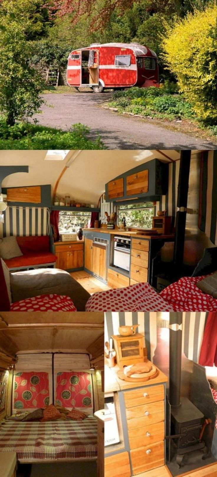 Before And After RV Remodel Ideas Vintagecampers in 2020