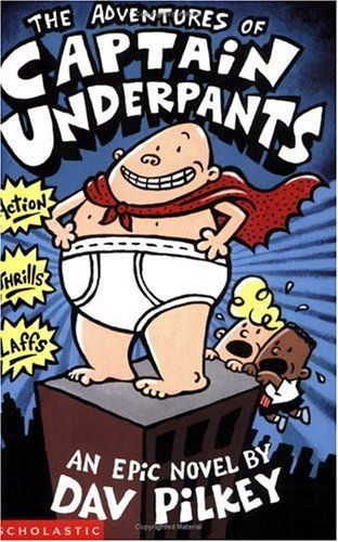 Captain Underpants. This is a super fun read. A great book to get students interested in reading and keep them going. I love all of these books and will hopefully have all of them in my classroom.