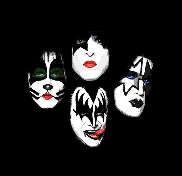 Kiss Band Makeup: 17 Best Images About Kizz On Pinterest