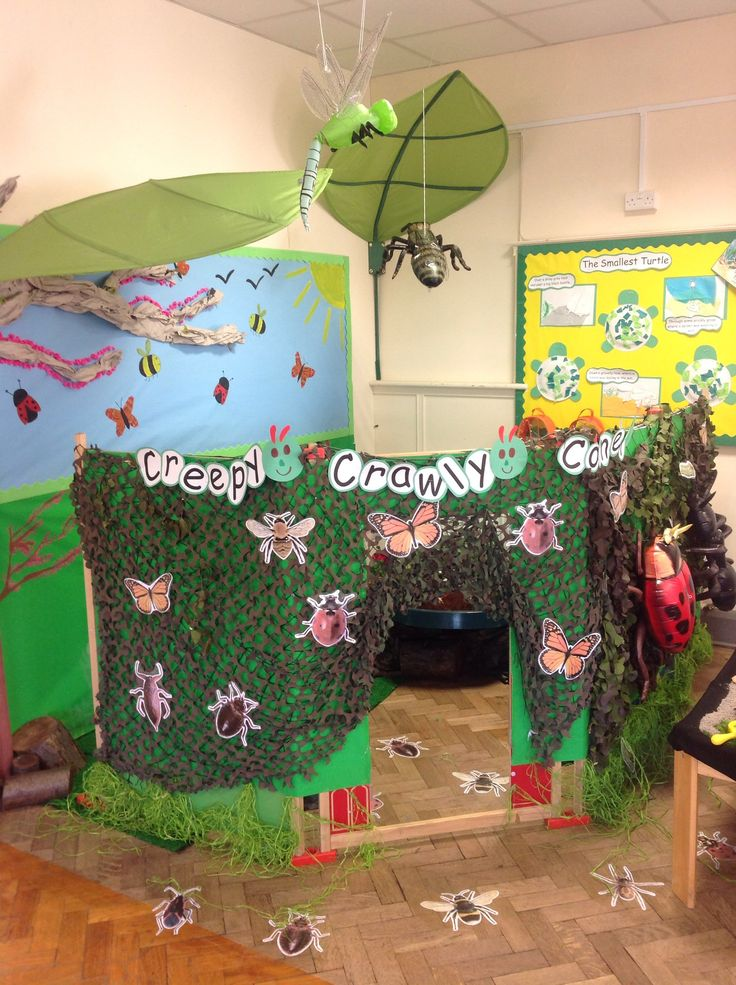 Creepy Crawly role play area