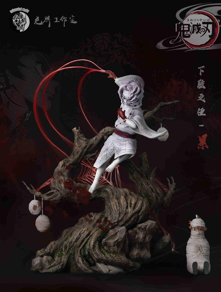 Demon Slayer Kimetsu No Yaiba B Akaza Vibration Stars Figure In 2021 Popular Anime Slayer Demon