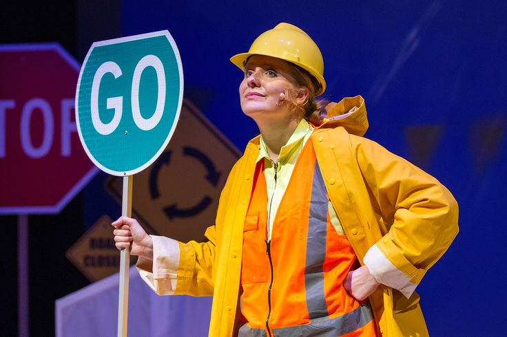 The Little Yellow Digger, Tim Bray Productions, Pumphouse Theatre, Takapuna, Auckland, New Zealand, 2014