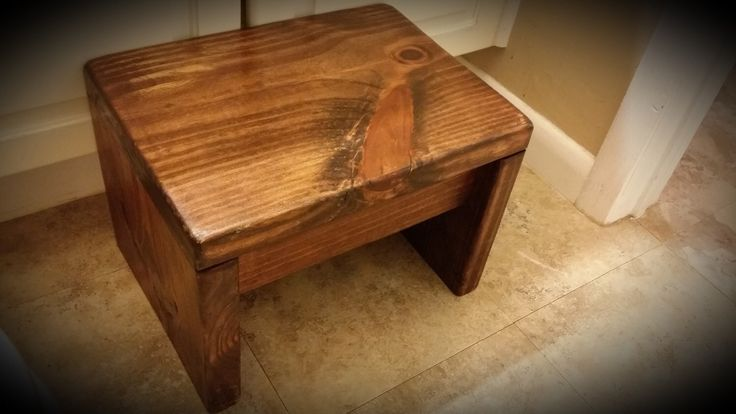 Rustic Country Step Stool, Kids step stools, bathroom steps stool, kitchen step stool, farmhouse step stool, handmade, bedside step stool by JesusTables on Etsy https://www.etsy.com/listing/288709471/rustic-country-step-stool-kids-step