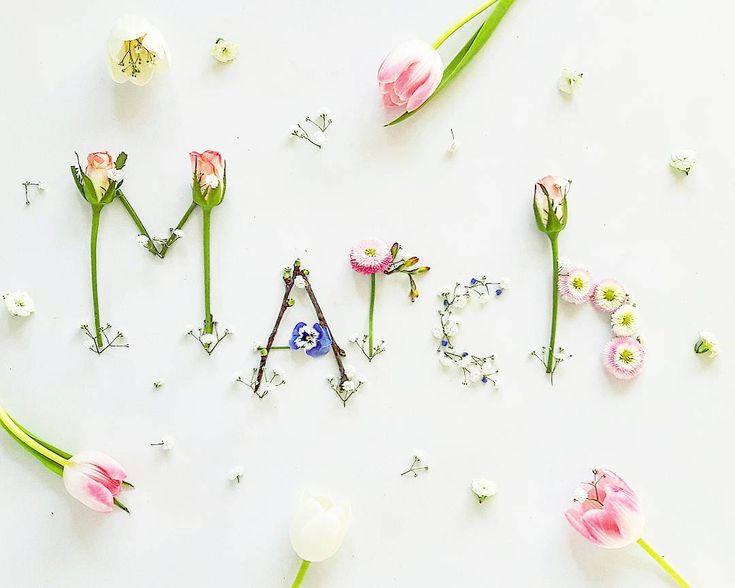 """Gefällt 721 Mal, 44 Kommentare – smettikage  auf Instagram: """"WELCOME MARCH Guten Morgen einen richtig schönen Start in einen bunten März liebe……"""