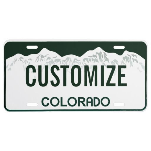 25+ Best Ideas About Custom Front License Plates On