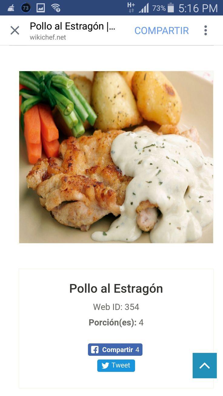 Pollo estragon