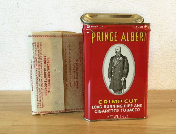 Prince Albert PocketTobacco Tin / Unopened by RedRavenCollectibles