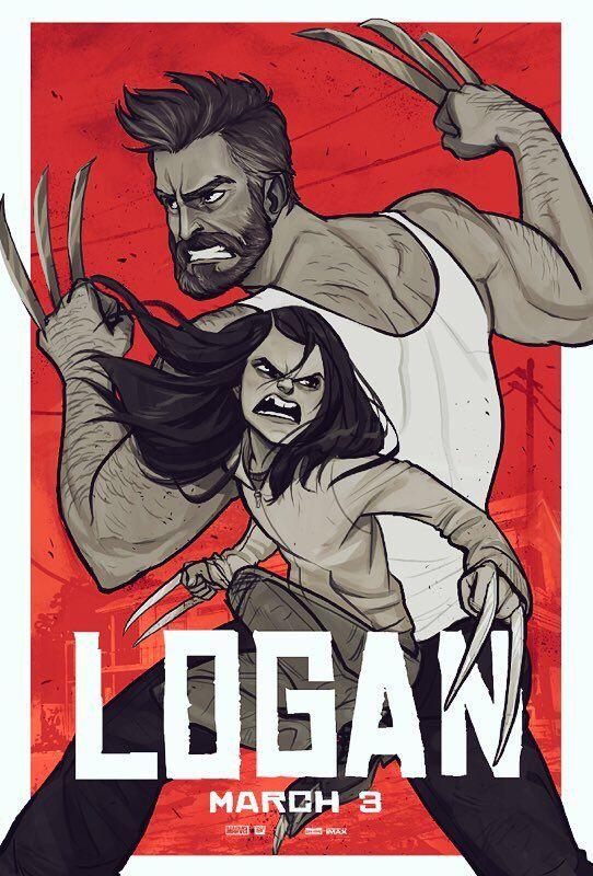 Babs Tarr | Logan poster