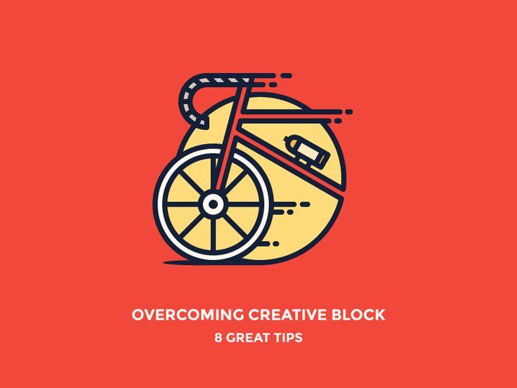 Overcome Creative Block Bike Image