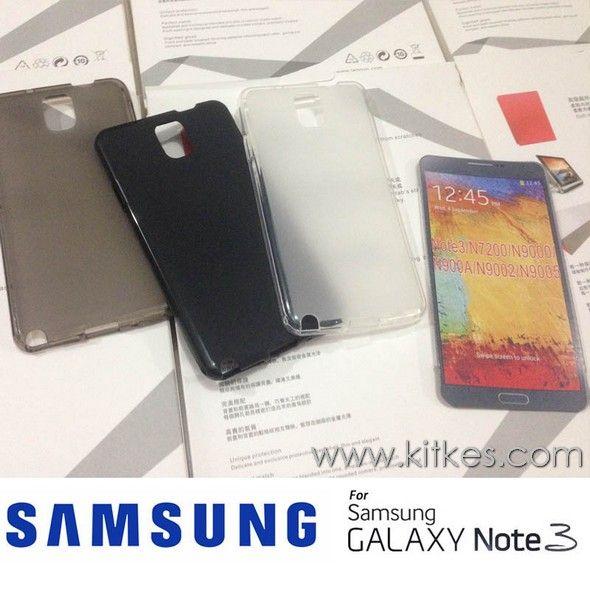 Matte TPU Soft Case Samsung Galaxy Note 3 - Rp 50.000 - Kitkes.com