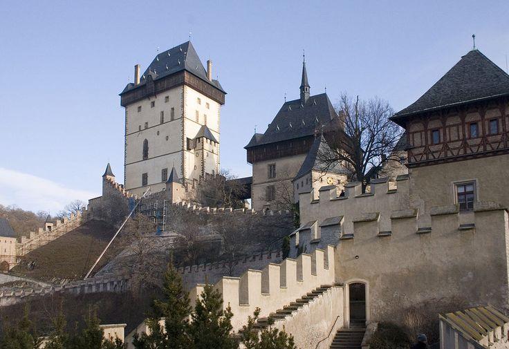 Castle Karlstein.-národní kulturní památka ČR-Ilya Vogyaer