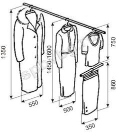 wardrobe design standards - Google Search