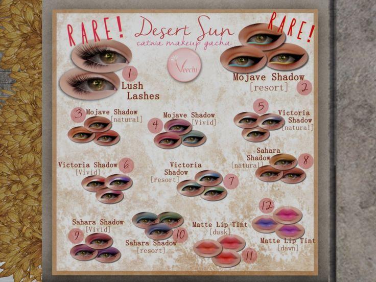 VEECHI makeup, 50L per playItem 149 of 267 Desert Sun