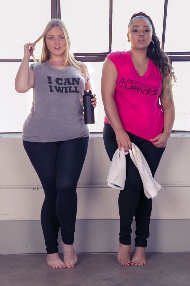 Just Curves is activewear made for plus size women by plus size women! #justcurves #curvygirls #healthycurves #weightloss #plussizefashion #activewear