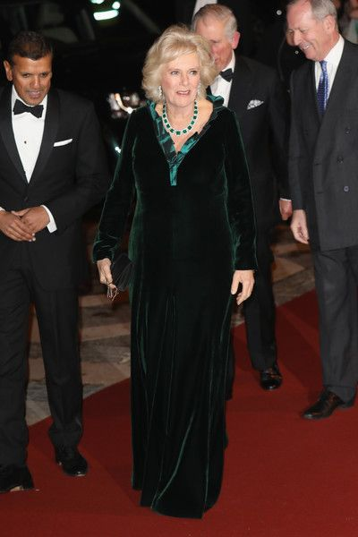 Camilla, Duchess Of Cornwall attends a reception and dinner for supporters of The British Asian Trust on February 2, 2017 in London, England. - The Prince of Wales and Duchess of Cornwall Support the British Asian Trust