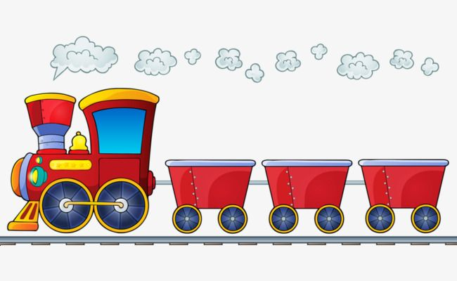 Pull Goods Train Png And Clipart Train Clipart Train Cartoon Clip Art