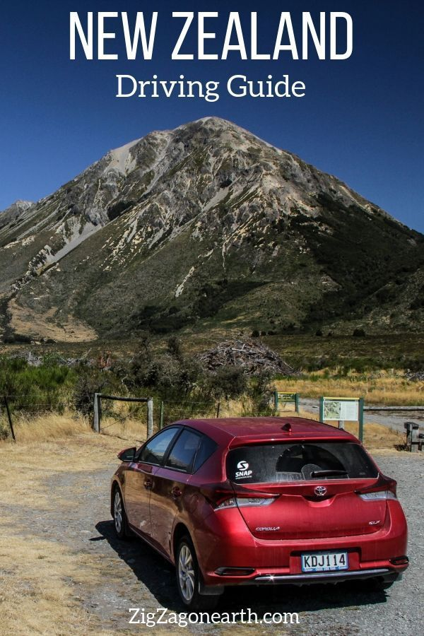 Renting A Car Driving In New Zealand Guide Video Nouvelle