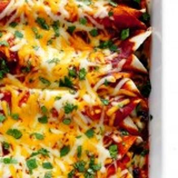 Best Chicken Enchiladas Ever! Recipe - Gimme Some Oven