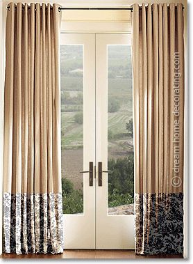 toile curtains french country window treatments with. Black Bedroom Furniture Sets. Home Design Ideas