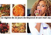 Le régime de 22 jours de  Beyoncé et son mari Jay!