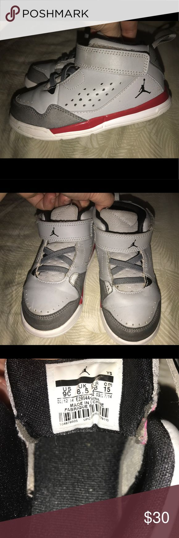 Toddler Jordan Flight shoes Size 9c Cute gently used Jordan Flights, Toddler Size 9c, from a pet free smoke free home. Jordan Shoes Sneakers