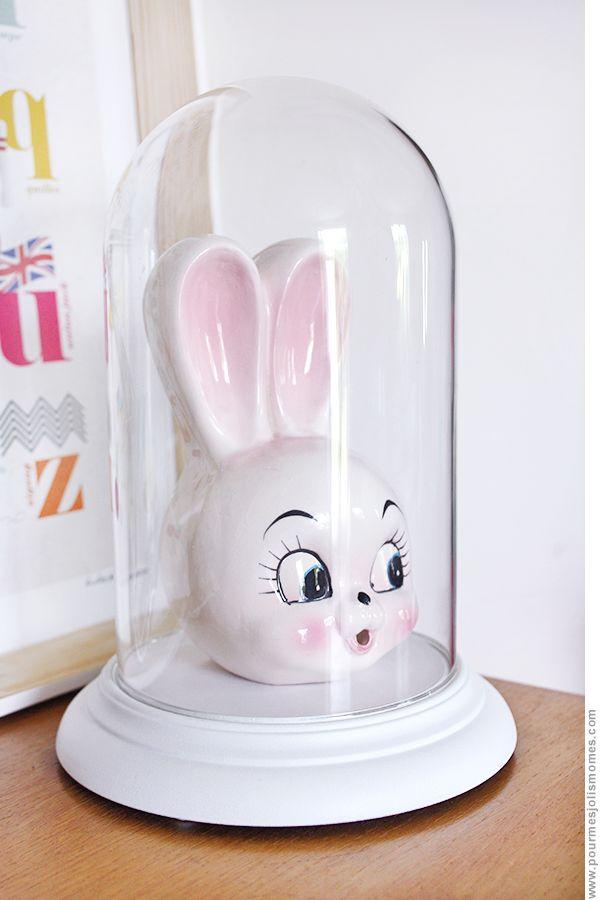 pour mes jolis mômes, mais pas que...: DIY : une cloche en verre