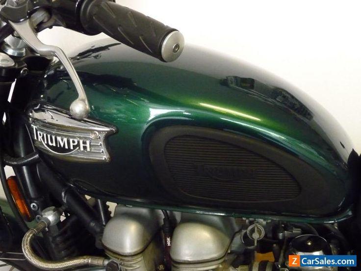 2005 Triumph Bonneville #triumph #bonneville #forsale #canada