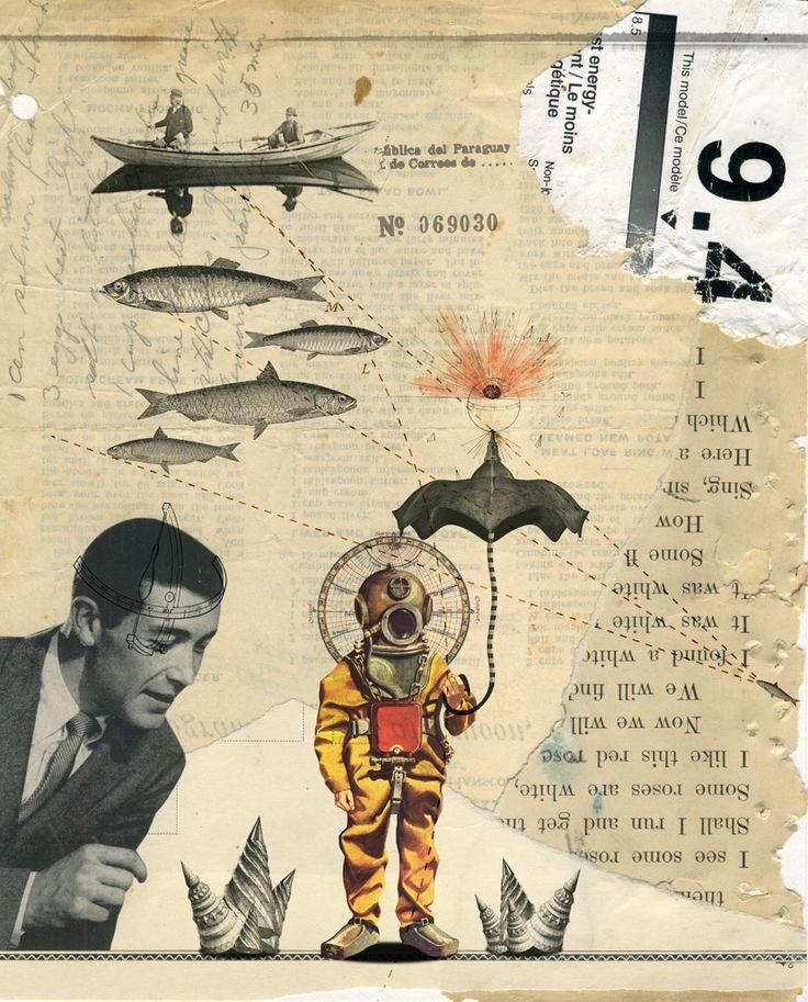 kacper-kiec:  Go Fish - collaboration with Zach Collins  (via artistjournals)