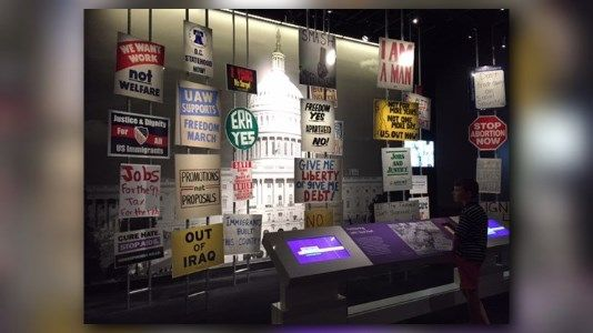 National American History Museum changes US history experience http://lnk.al/4HXP #artnews