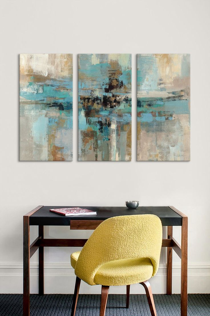 Morning Fjord 3 Panel Sectional Wall Art | HauteLook