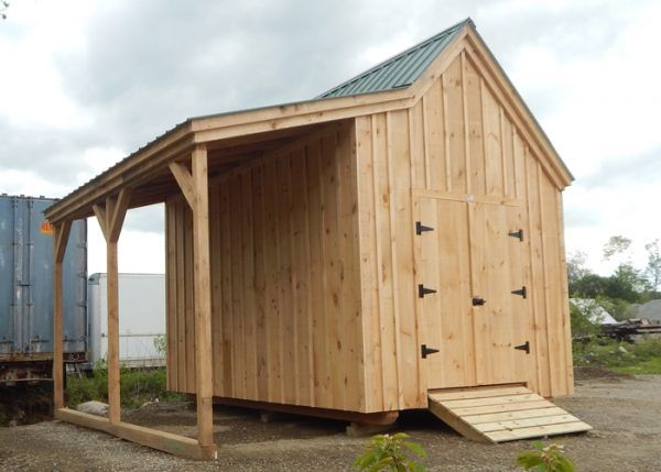 Hobby House Backyard Cabin Shed Plans Shed