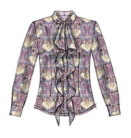 McCall's pattern- Artist shirt/tunic