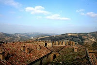View from the Castello of Zavattarello