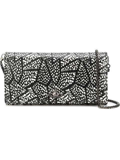 Shop Vivienne Westwood crystal print wallet  in Anastasia Boutique from the world's best independent boutiques at farfetch.com. Shop 300 boutiques at one address.