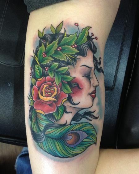 Mother Nature Tattoo Mother nature tattoo