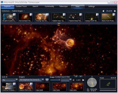 Η ΑΠΟΚΑΛΥΨΗ ΤΟΥ ΕΝΑΤΟΥ ΚΥΜΑΤΟΣ: WorldWide Telescope 5.5 - Αφεθείτε στο περιβάλλον ...