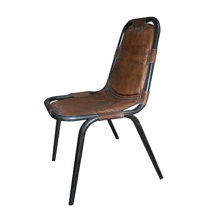 25 beste idee n over vintage metalen stoelen op pinterest for Eettafel stoelen cognac