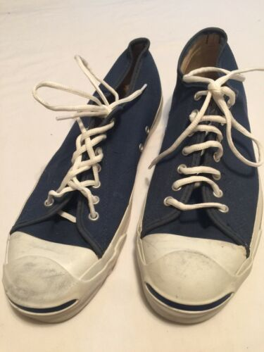 fe3f95b7461a46 Blue Vintage Converse Jack Purcell USA Size 11 1 2 Nice!! Barely Worn!!