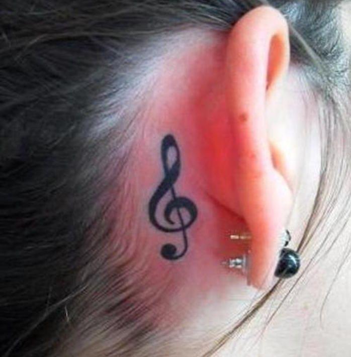Key Tattoo – Musik in der Haut – Tattoo Ideen
