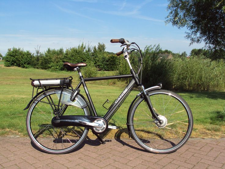 Gazelle Orange Plus omgebouwd tot elektrische fiets