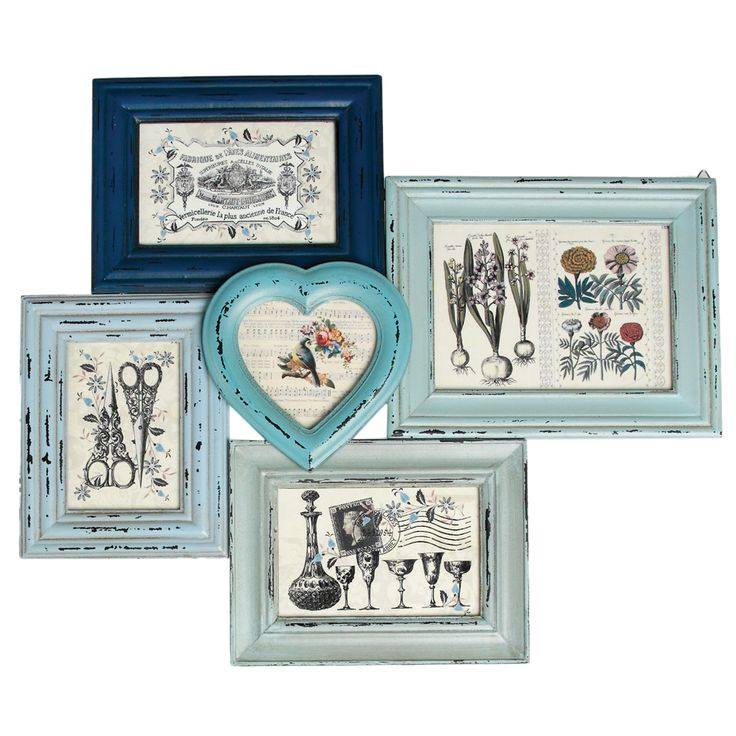 Heritage Multi Picture Frames Collection | DotComGiftShop