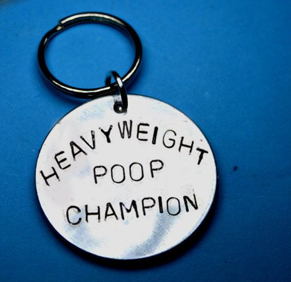 Funny gift for boys, Poop champion, Teen boy gift, Poo gift, Keychain for boy…