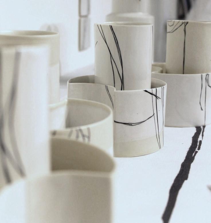 Catriona Munro, Edulis - Ceramic Cups Bowls