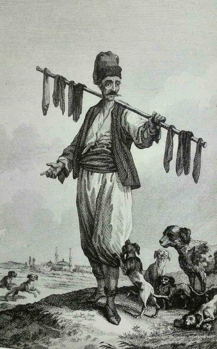 Ciğerci (Liver seller),Gouffier ,1782