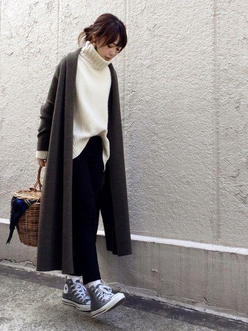 Deuxieme Classeのその他アウター「《予約》*スムースニットガウンコート」を使ったari☆のコーディネートです。WEARはモデル・俳優・ショップスタッフなどの着こなしをチェックできるファッションコーディネートサイトです。