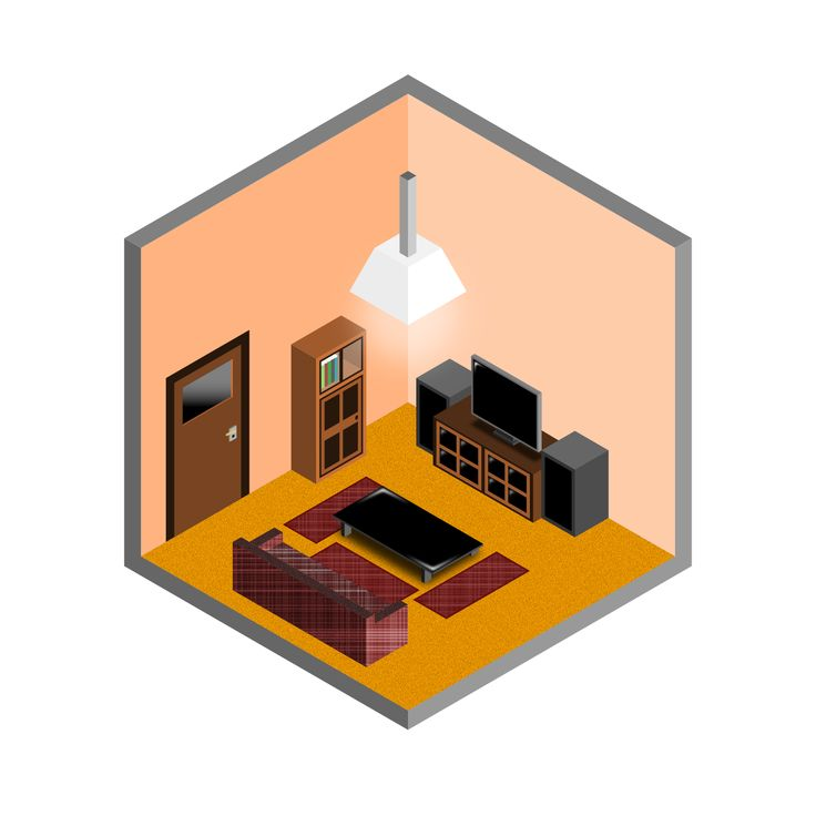 Playing with isometric in Inkscape is fun!