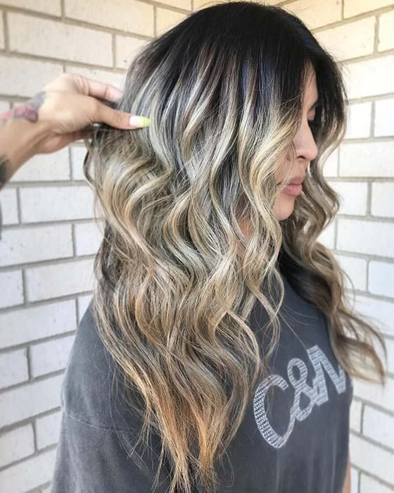 hairstyles-black-hair-with-blonde-highlights