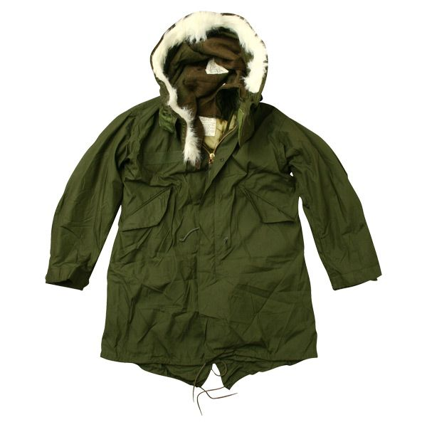 The US Army M-65 fishtail parka was a must have for mods who wore them over their suits when riding scooters